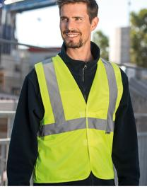Safety Vest with 3 Reflective Tapes