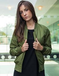 Ladies Nylon Bomber Jacket
